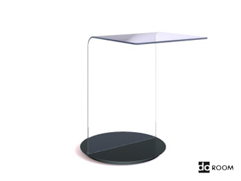 Fashion styling glass desktop