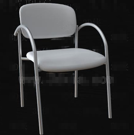 White simple and fashionable office chair