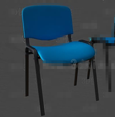 Blue fashion office chair