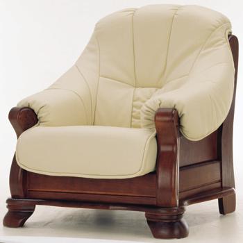 European-style leather sofa