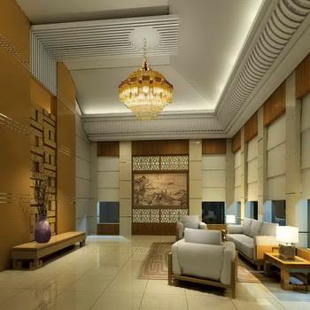 Modern and elegant penthouse living room