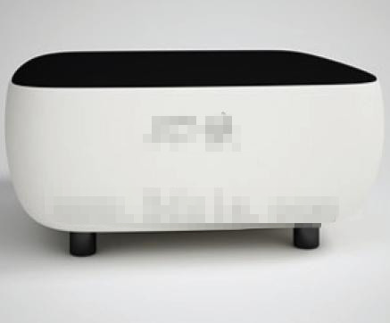 Modern personalized black and white sofa