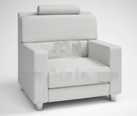 Fashion light gray fabric sofa
