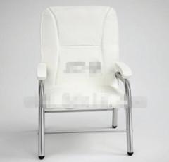 Modern simple white single chair