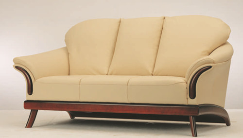 European-style cushion three seats sofa