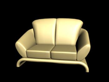 European-style single sofa