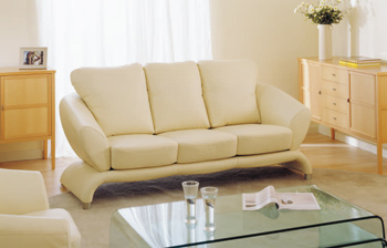 European-style three seats sofas combination