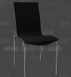 Black metal feet chairs