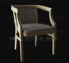 Retro simple wooden chair