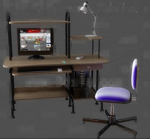 Computer desk combination -1