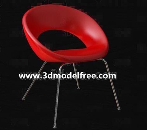 Red Fashion Leisure chair