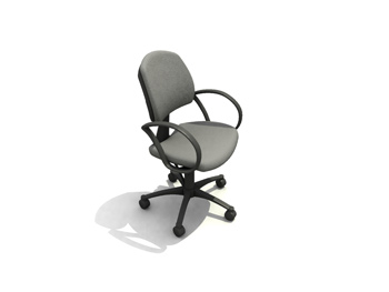 Modern easy chair