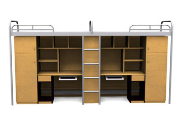 Campus-style one bed cabinet