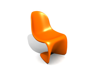 candy color avant-garde chairs free download