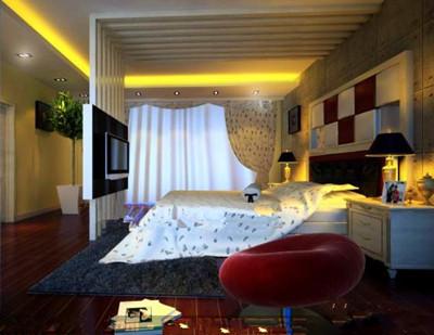 Modern and stylish luxury bedroom