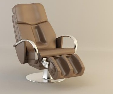 Beauty and barber room with the chair