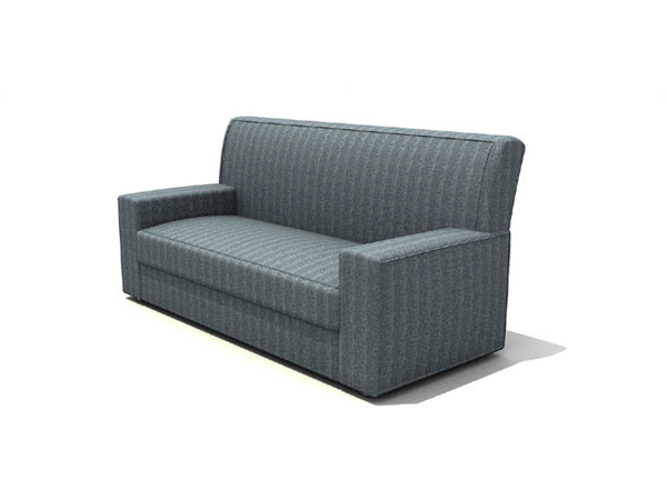 Simple and elegant Chinese-style gray sofa