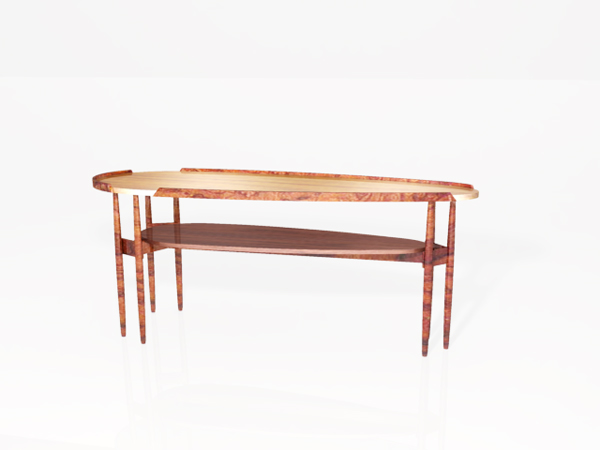Chinese double small long table