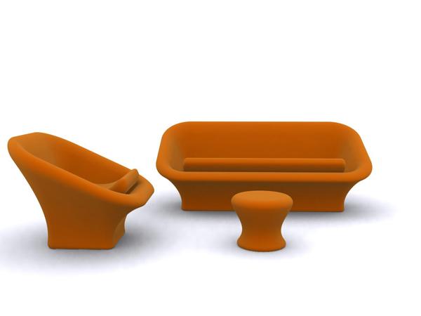 Combination of European fashion sofa
