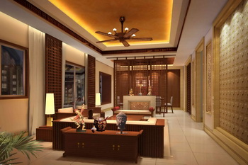 Chinese style modern solid wood living room