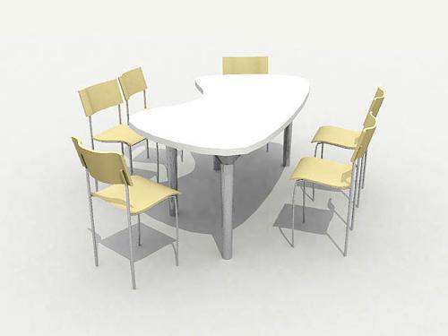 Sweet household chair 3D models