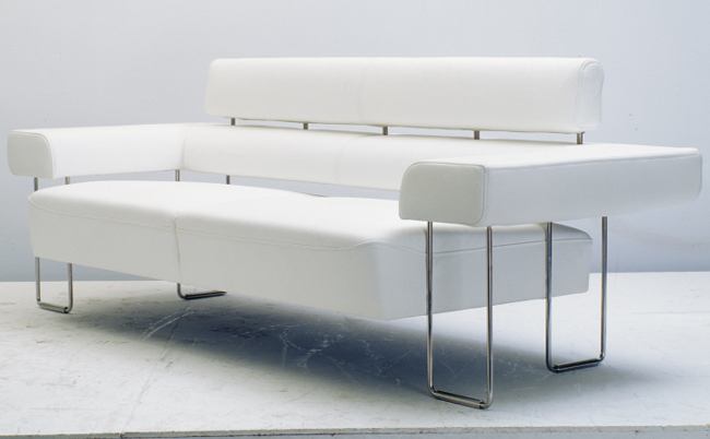 Personality contracted double sofa 3D models