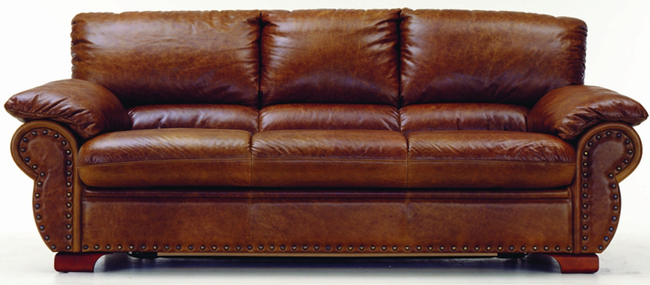 Many people cowhide villa receive a visitor sofa 3D models