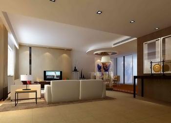 Modern fresh and elegant living room