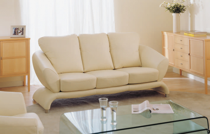 White Living Room Sofa At Home More