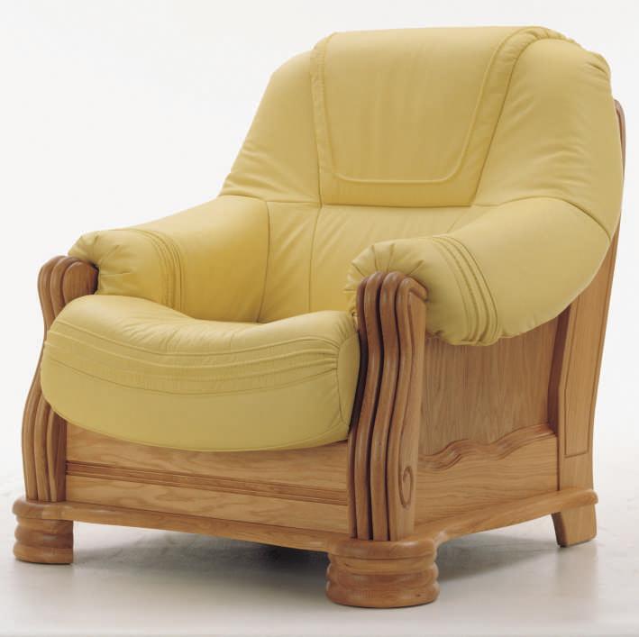Solid wood base single cloth art sofa 3D models