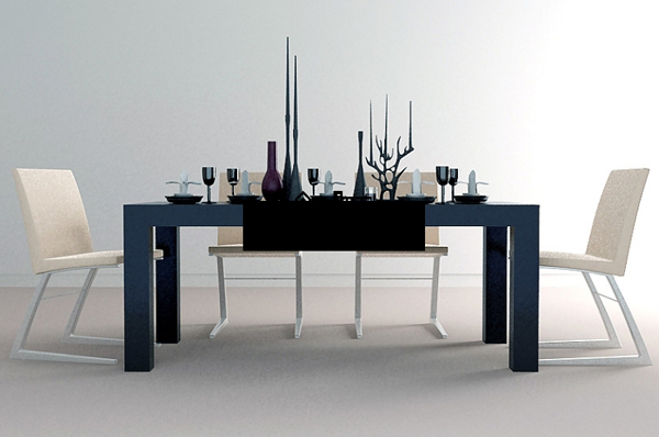 Chinese neo-classical dining table