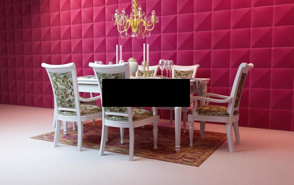 European classical dining table