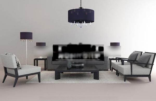 Europe type sofa of white elegance combination