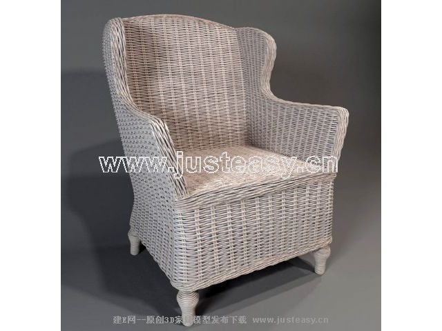 Single back rattan sofa Chinese