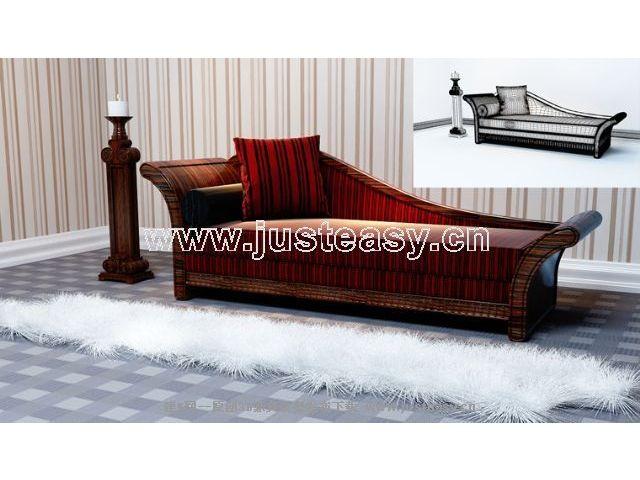 European retro sofa