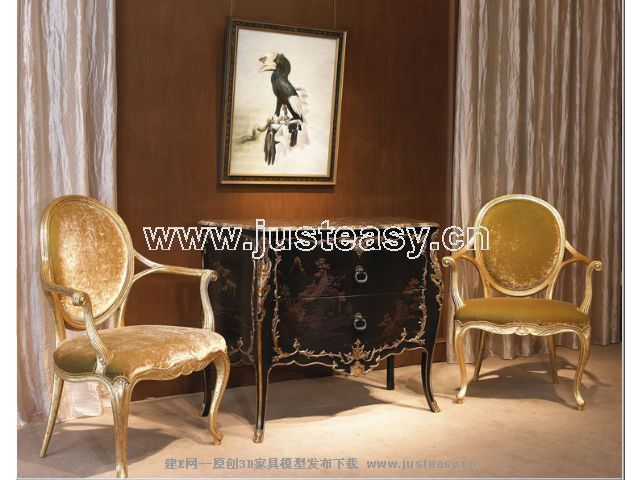 Classical combination of luxury chair