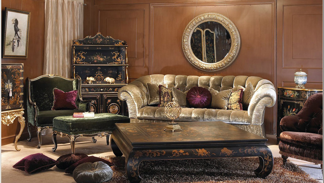 Classical combination of luxury furniture