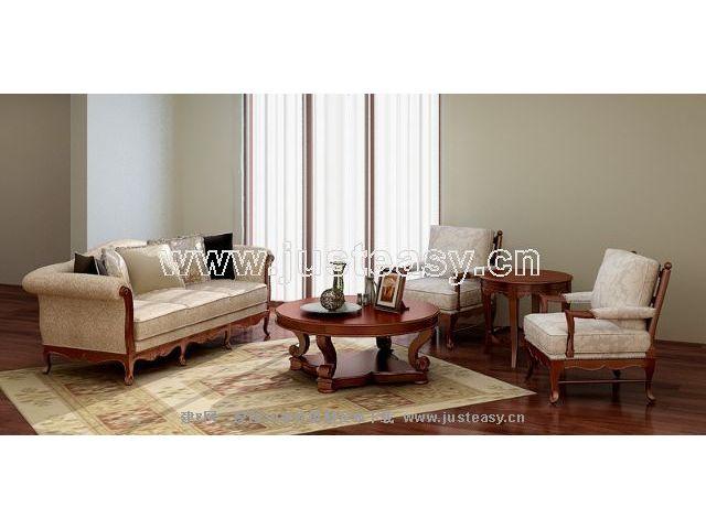 Garden-style sofa combination