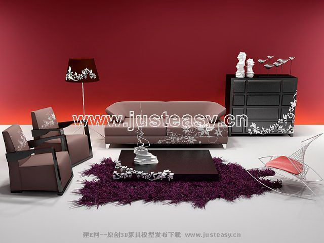 Genuine sofa modern Chinese