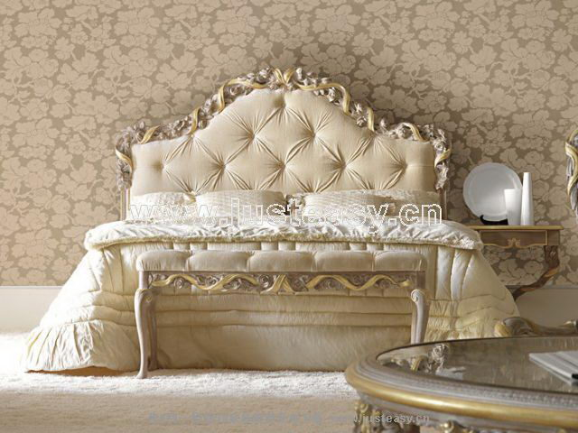 Boloni 3d model of the classical bed including materials for Mobel 3d download