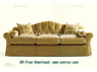 European style fashion soft sofa