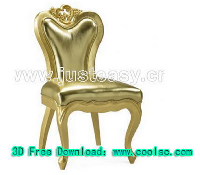 3D model of neo-classical chairs (including materials)