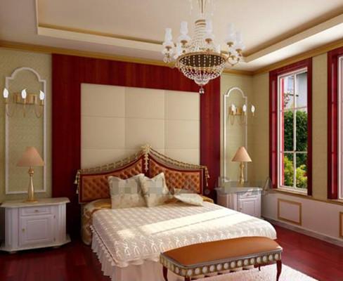 Gorgeous cozy warm colors bedroom