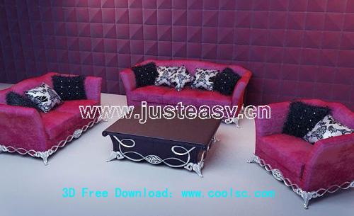 European style,Sofa and Tea table
