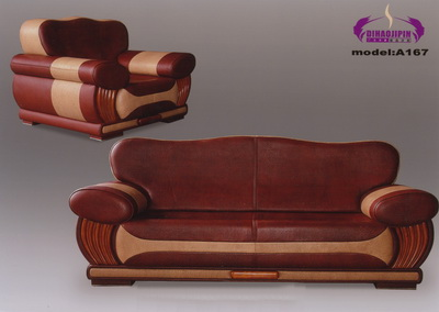 3D model of the purple sofa boss