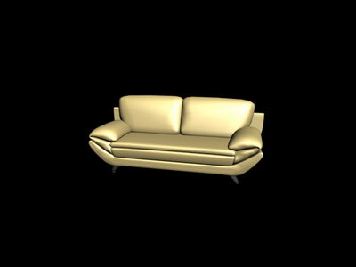 White cloth sofa