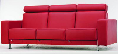 Red sofa 3D Model of Fashion