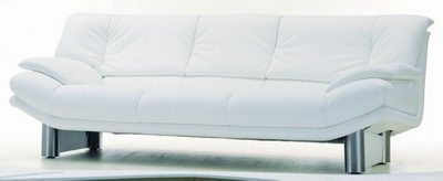 Pure white luxury sofa