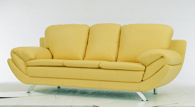 Yellow fashion sofa
