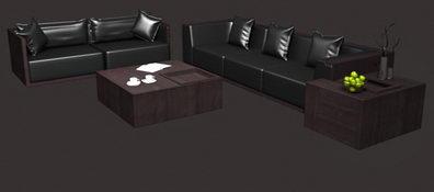 Corner units sofa